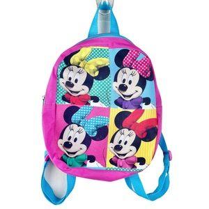 Disney Minnie Mouse Mini Backpack Girls Pink Blue